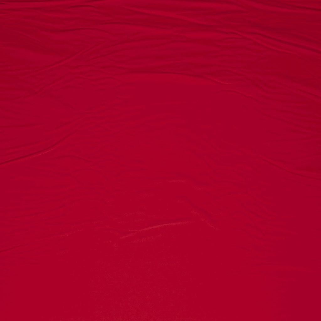4-Way Stretch Swimsuit Material in Red Fabric by Various