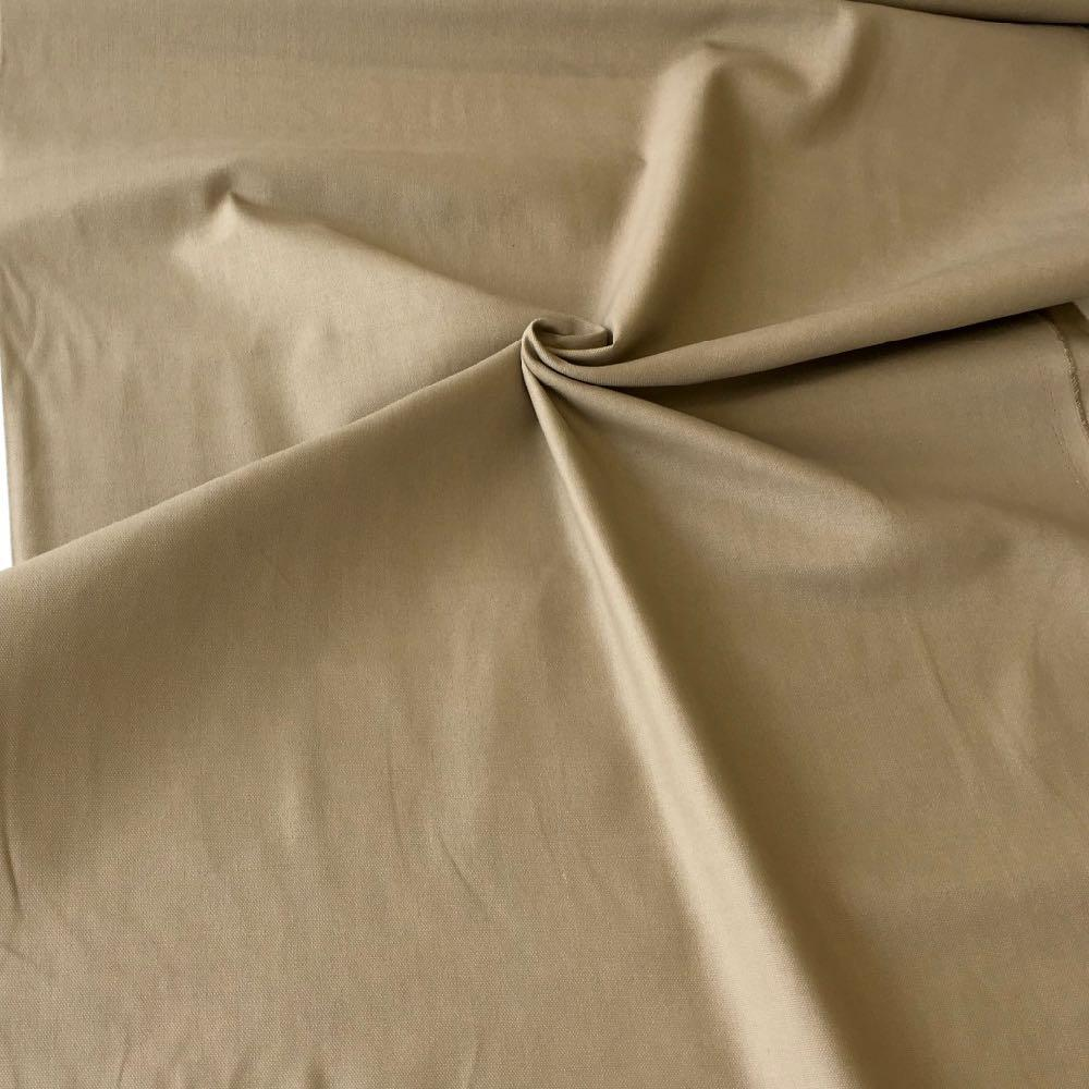 10oz Cotton Canvas Solids Beige - Frumble Fabrics