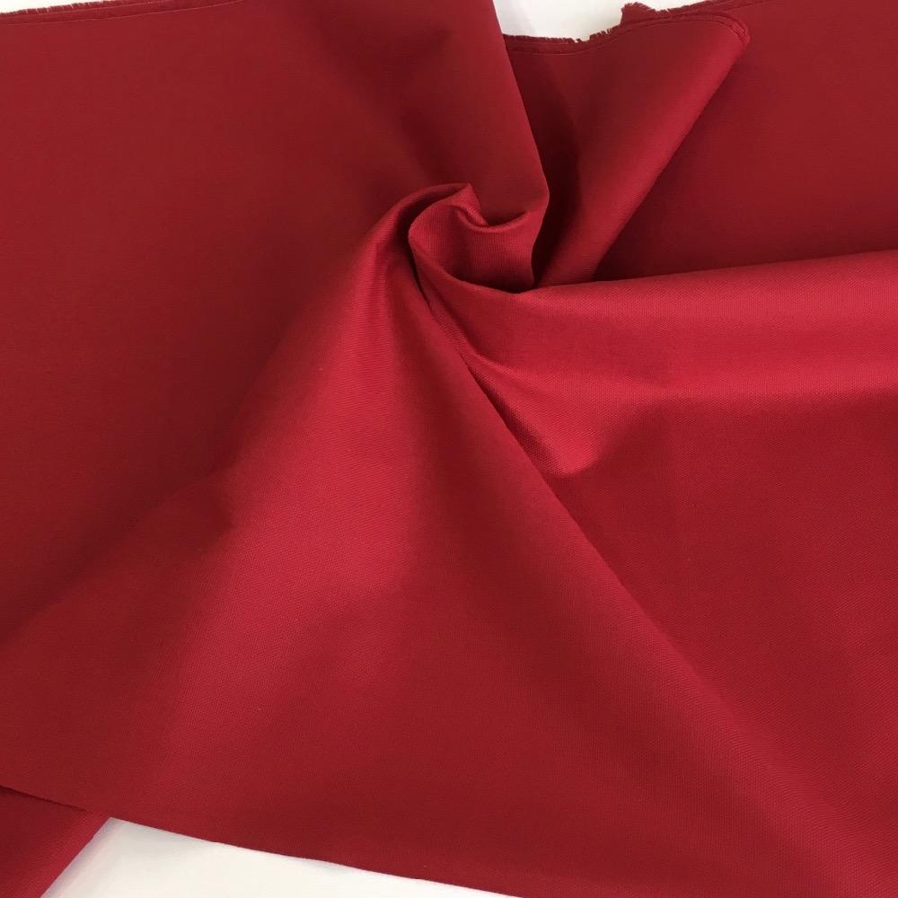 10oz Cotton Canvas Solids Crimson Burgundy - Frumble Fabrics