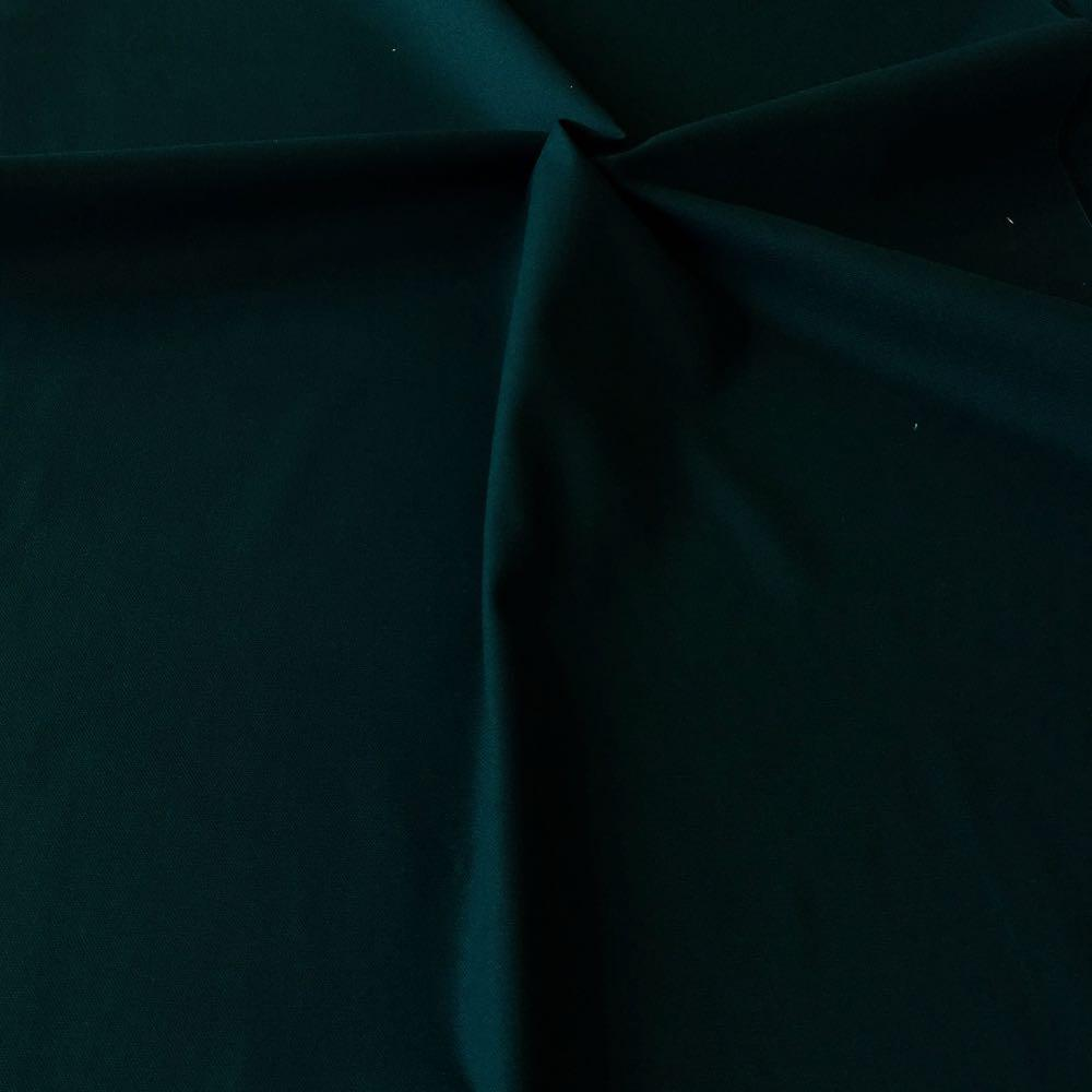 Cotton Canvas Solids Dark Green Fabric by Various