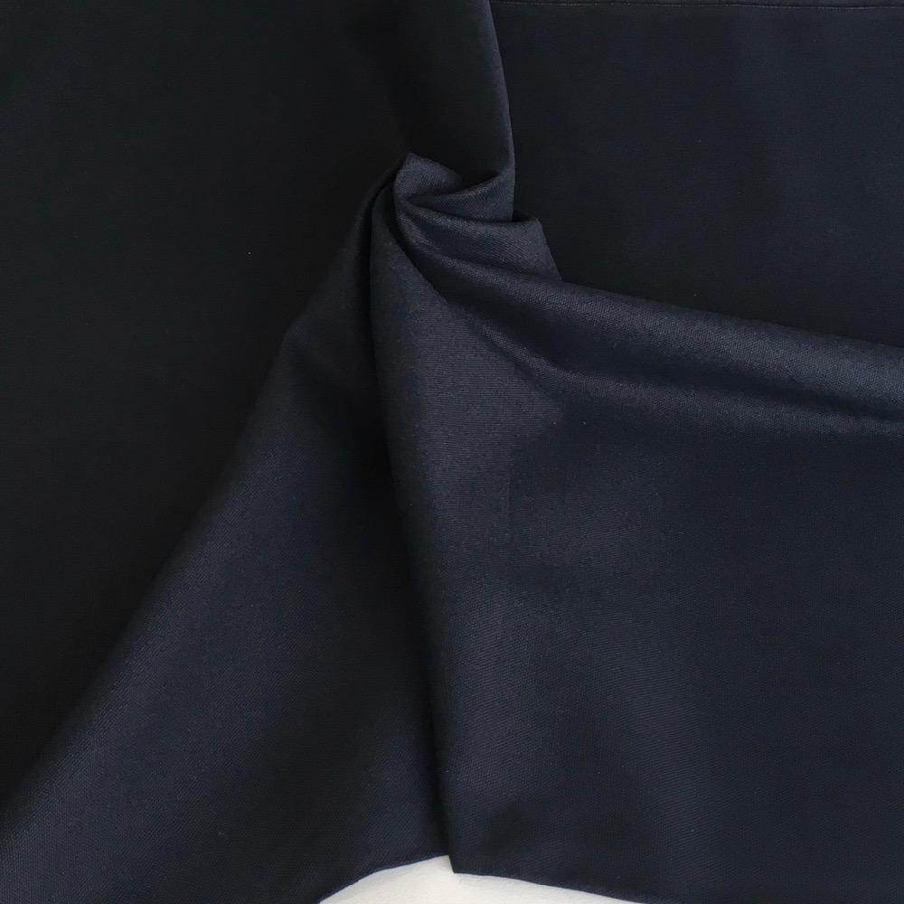 10oz Cotton Canvas Solids Dark Navy - Frumble Fabrics