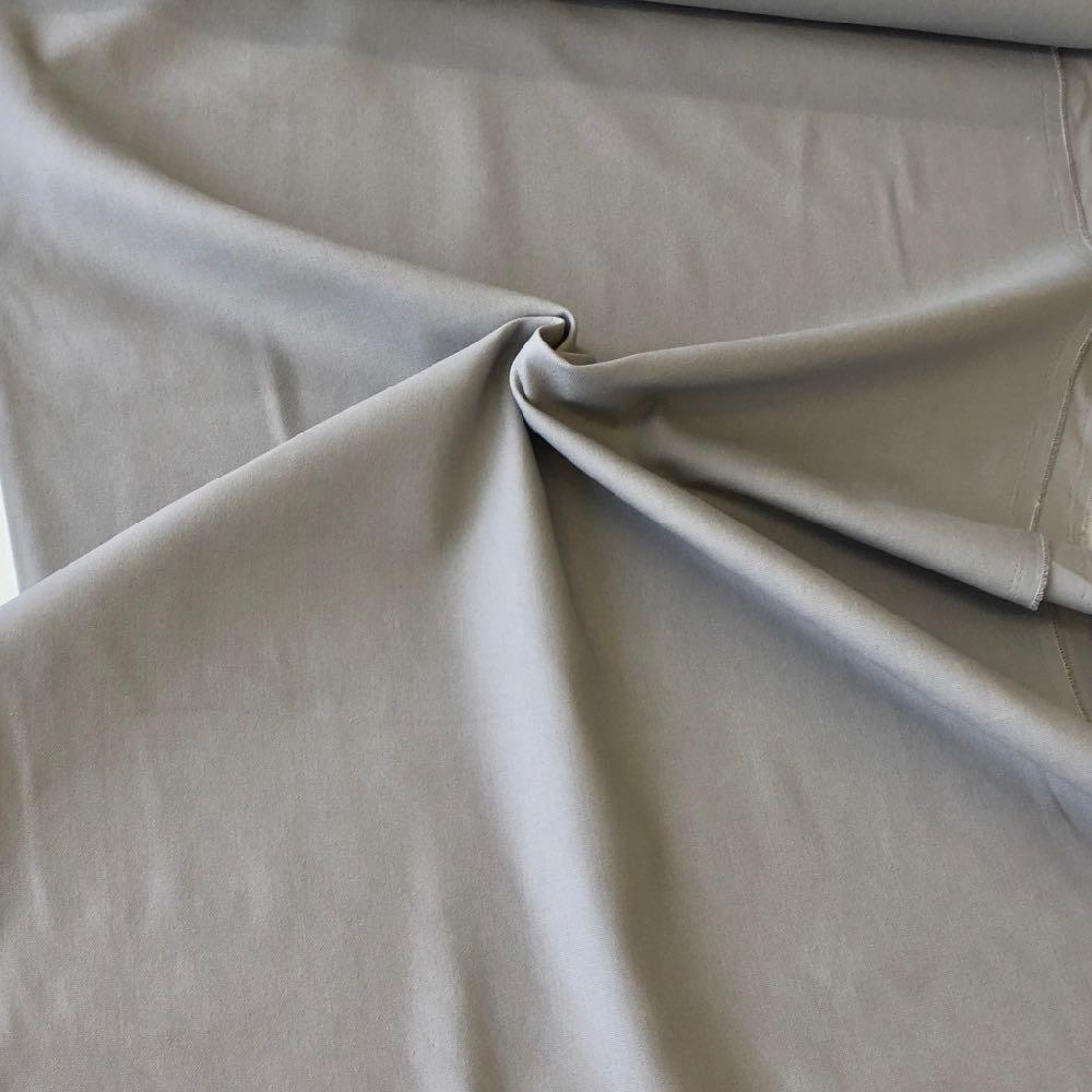 10oz Cotton Canvas Solids Grey - Frumble Fabrics