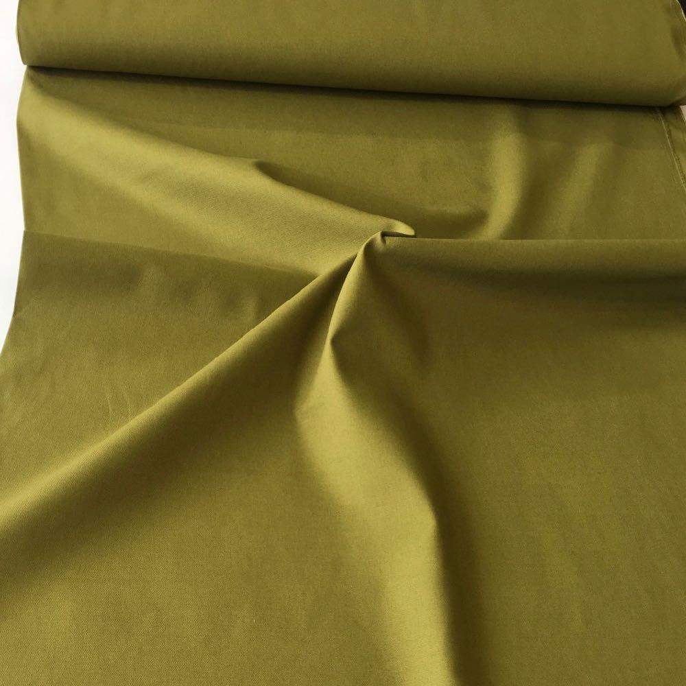 10oz Cotton Canvas Solids Olive Green - Frumble Fabrics