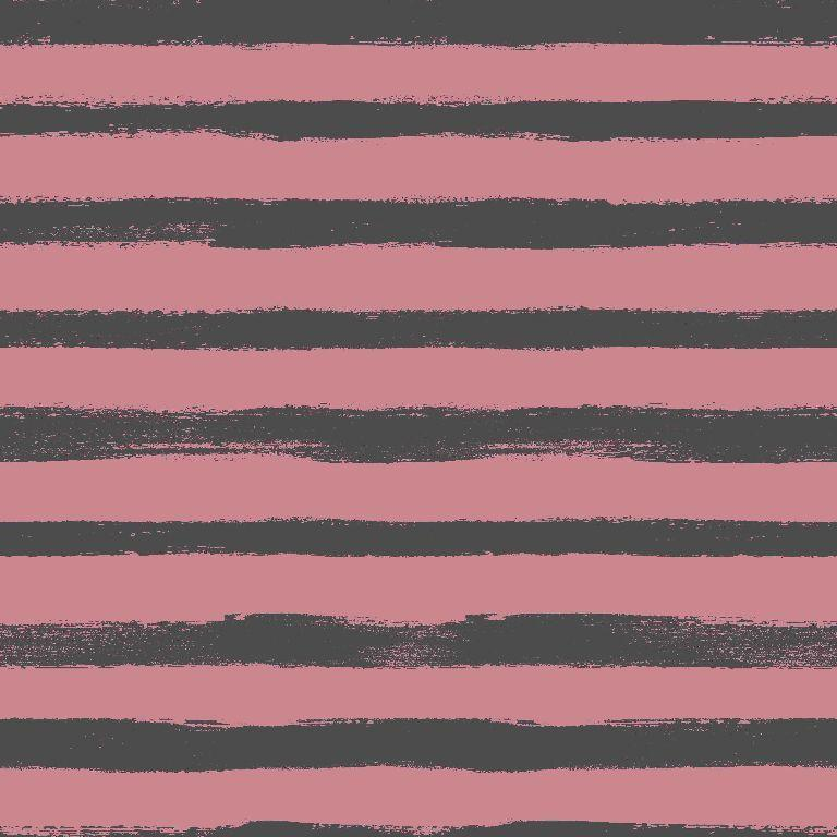 Groovy Stripes Loop Back Terry Rose Fabric by Various
