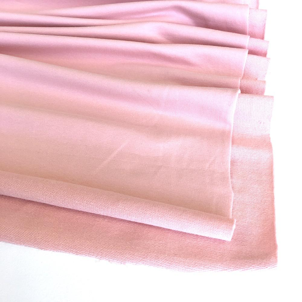Pale Pink Premium French Terry - Frumble Fabrics