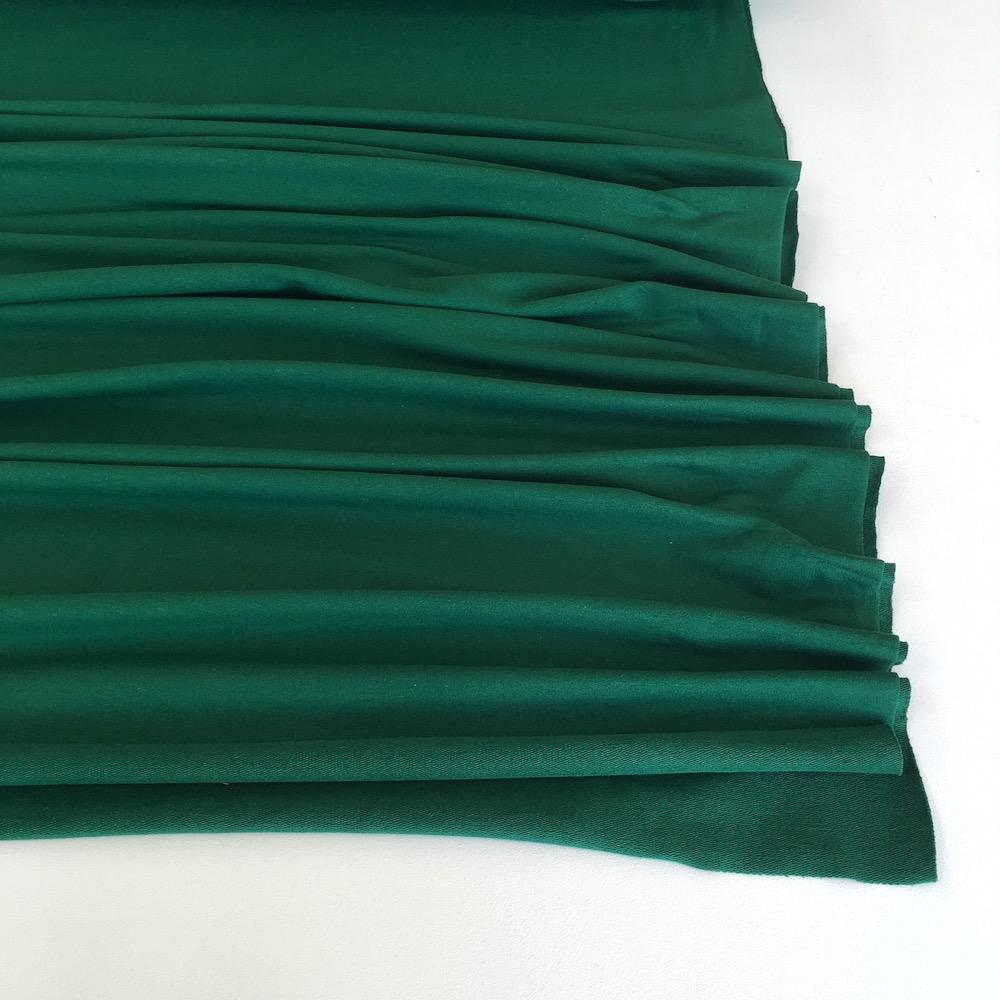Racing Green Premium French Terry - Frumble Fabrics