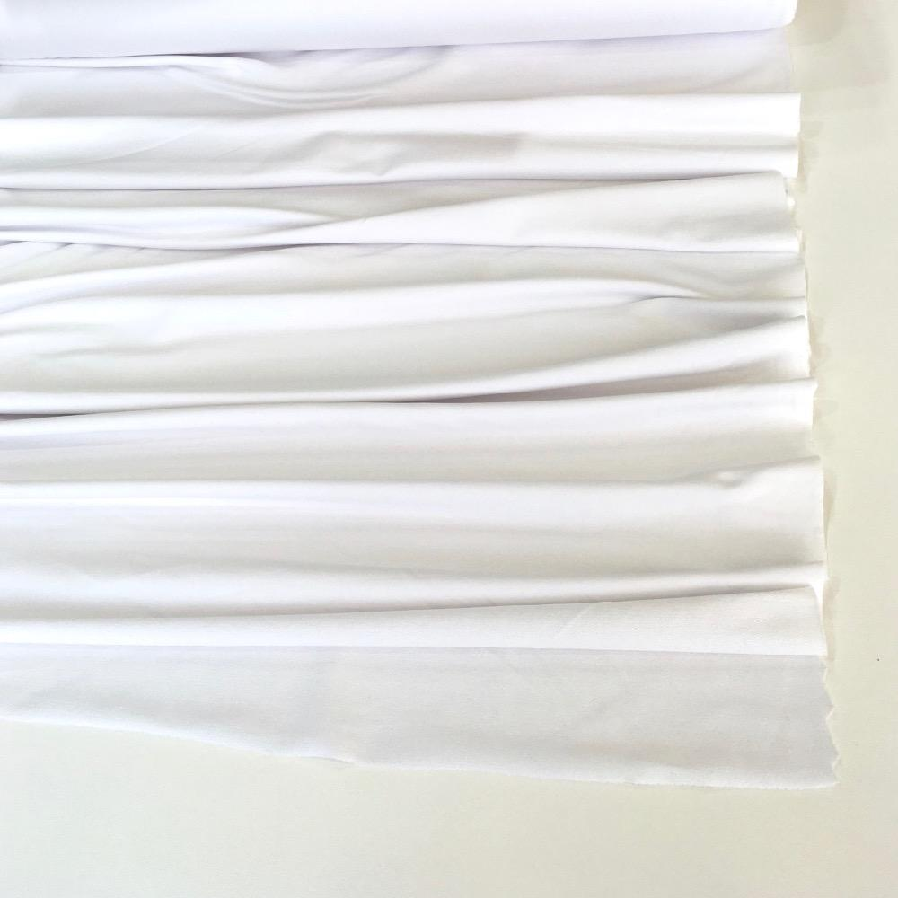 White Premium French Terry - Frumble Fabrics