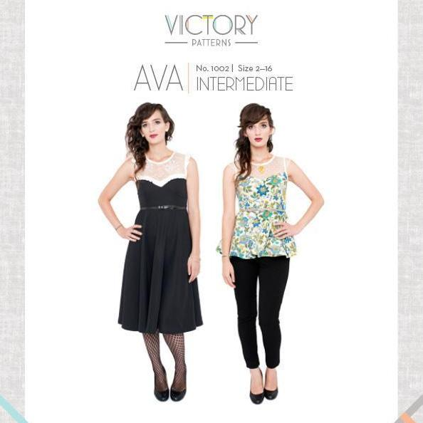 Victory Patterns - Ava Pattern - Frumble Fabrics
