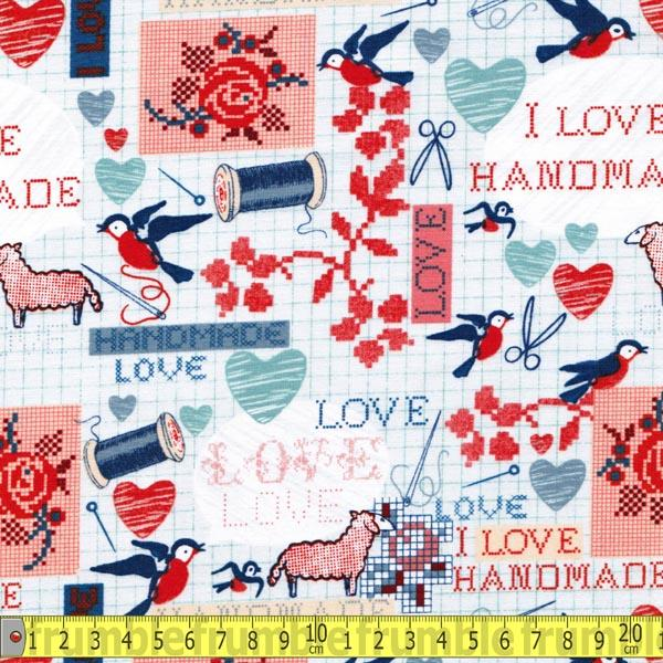 Handmade Stitch Collage - Frumble Fabrics