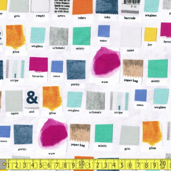 Paint Such Designs Swatch - Frumble Fabrics