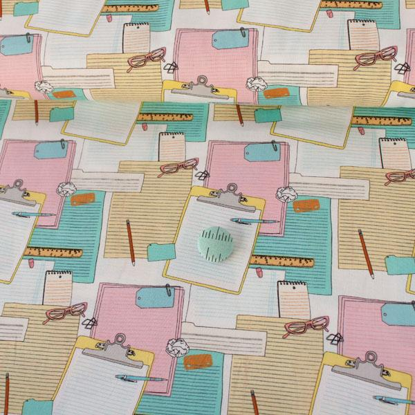 Type Clipboard Notes - Frumble Fabrics
