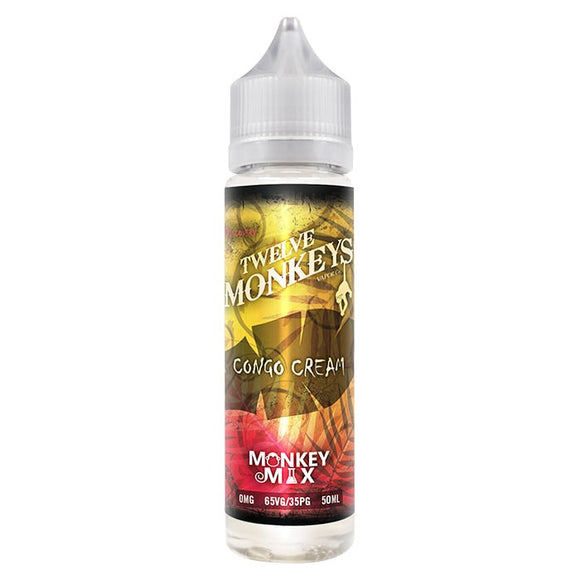 Twelve Monkeys - Congo Cream - shortfill 50ml