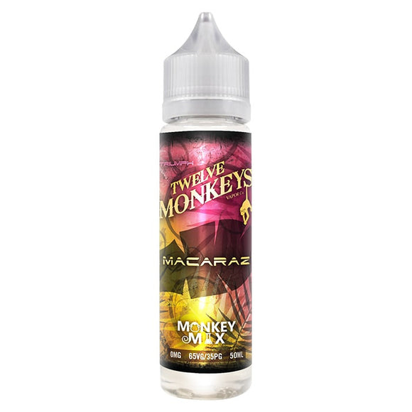 Twelve Monkeys - Macaraz - shortfill 50ml
