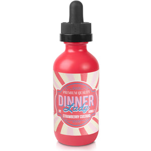 Dinner Lady - Strawberry Custard - Short Fill 50ml
