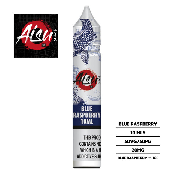 Aisu Salts Blue Raspberry 10ml 20mg Nicotine E-liquid