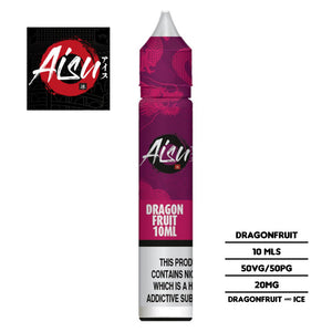 Aisu Salts Dragonfruit 10ml 20mg Nicotine E-liquid