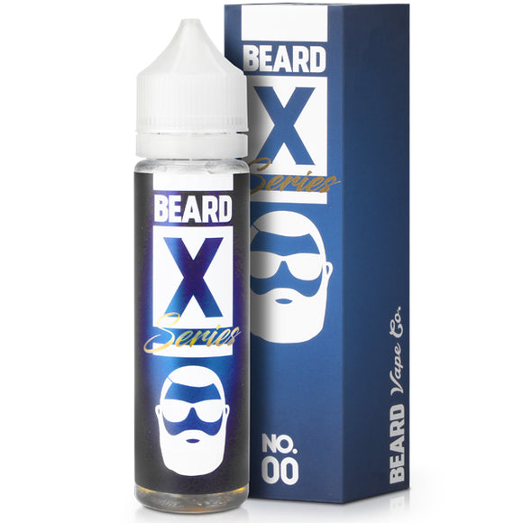 Beard Vape - X Series 00 50ml Short Fill E-liquid