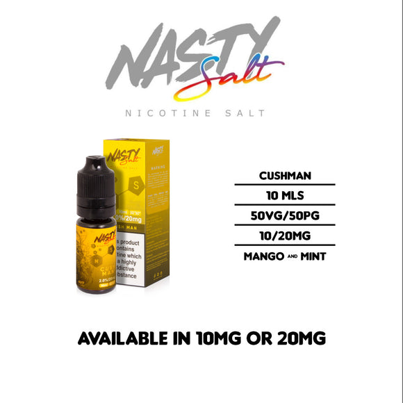 Nasty Juice - Cushman - Nicotine Salt E Liquids 10ml