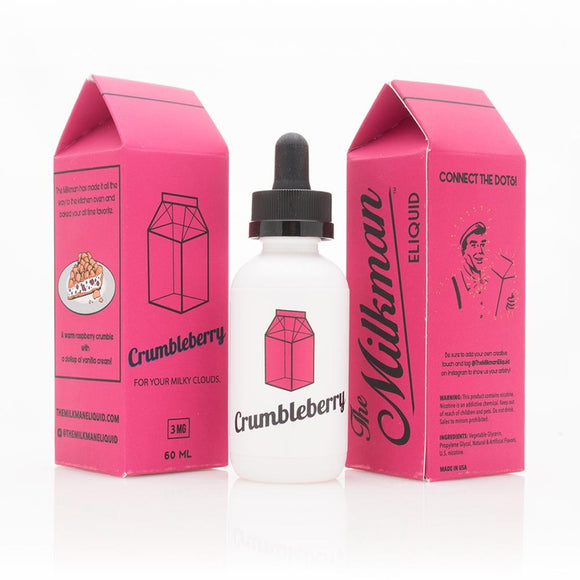 The Milkman - Crumbleberry - shortfill 50ml