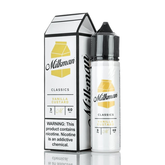 The Milkman - Vanilla Custard - 50ml shortfill