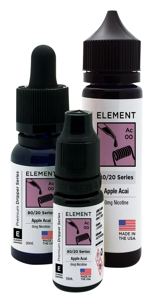 Element Dripper Series - Apple Acai - Short Fill 100ml