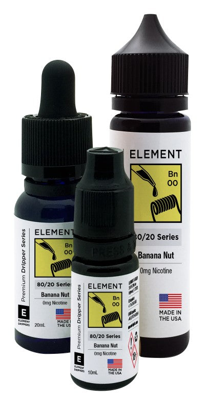 Element Dripper Series - Banana Nut - Short Fill 100ml