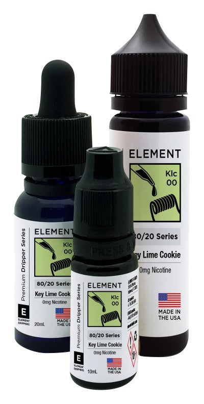 Element Dripper Series - Key Lime Cookie - Short Fill 50ml