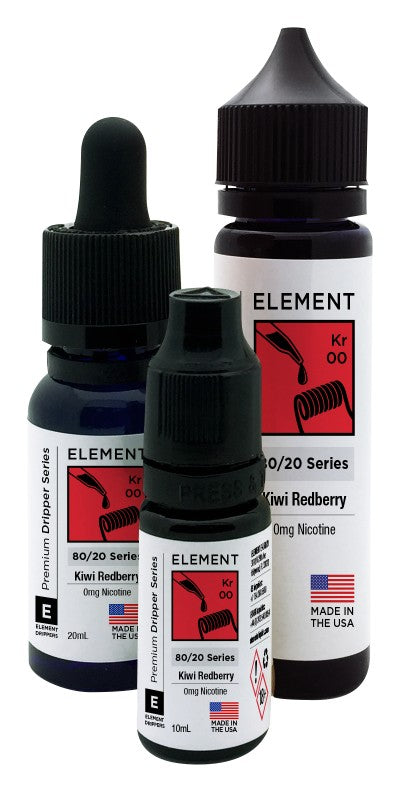 Element Dripper Series - Kiwi Redberry - Short Fill 50ml