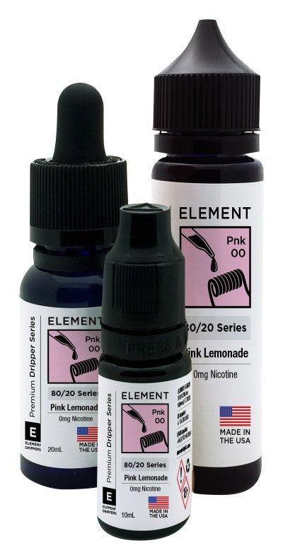 Element Dripper Series - Pink Lemonade - Short Fill 100ml