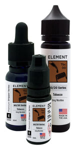 Element Dripper Series - Tobacco - Short Fill 50ml