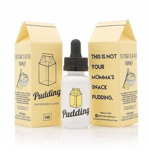 The Milkman - Pudding - shortfill 50ml