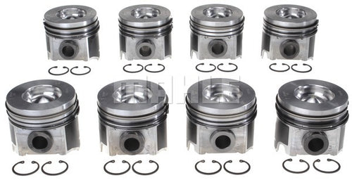 6.0 Ford Powerstroke Pistons w/rings - Set