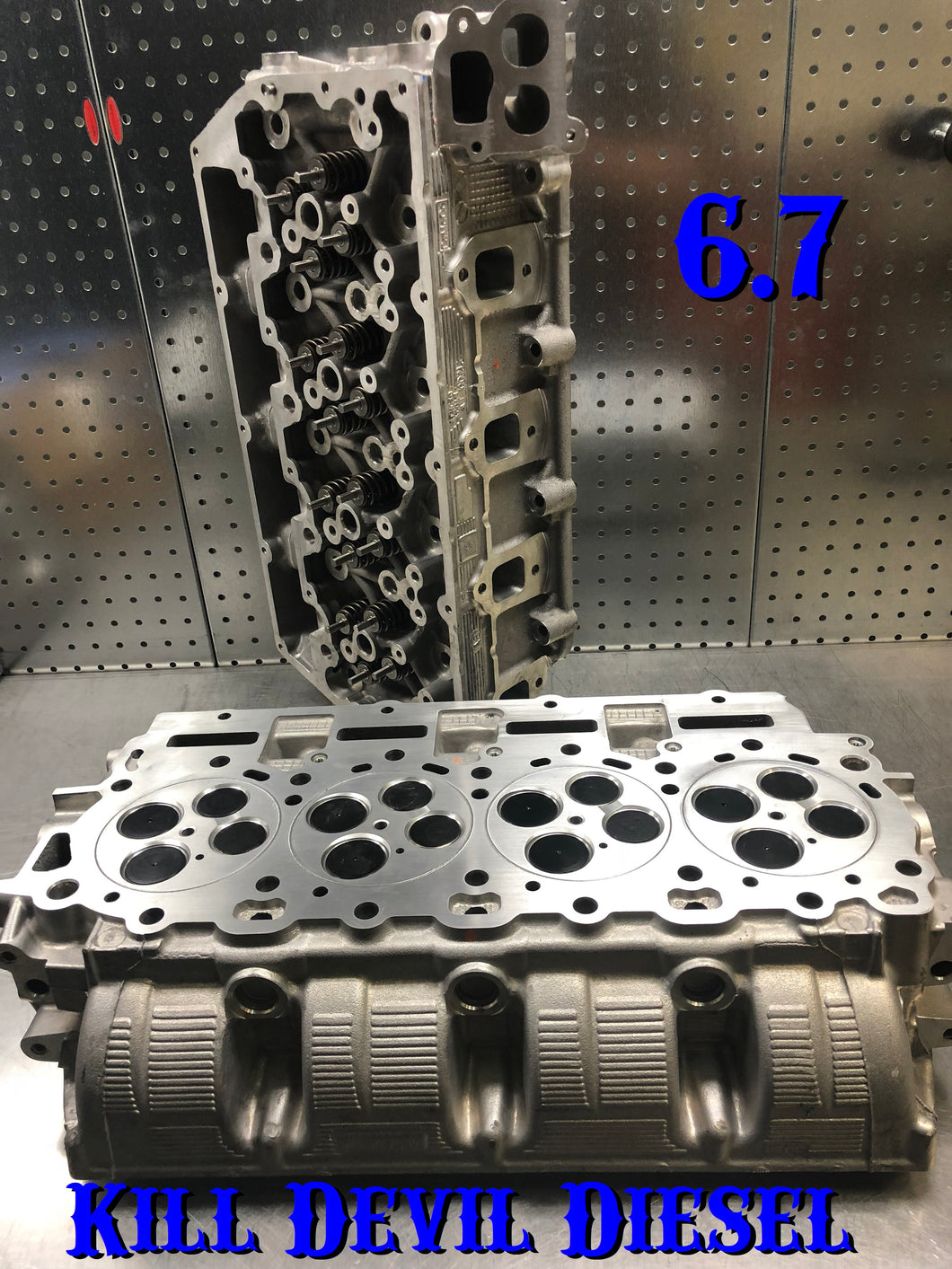 KDD 6.7 O-Ring Cylinder Heads