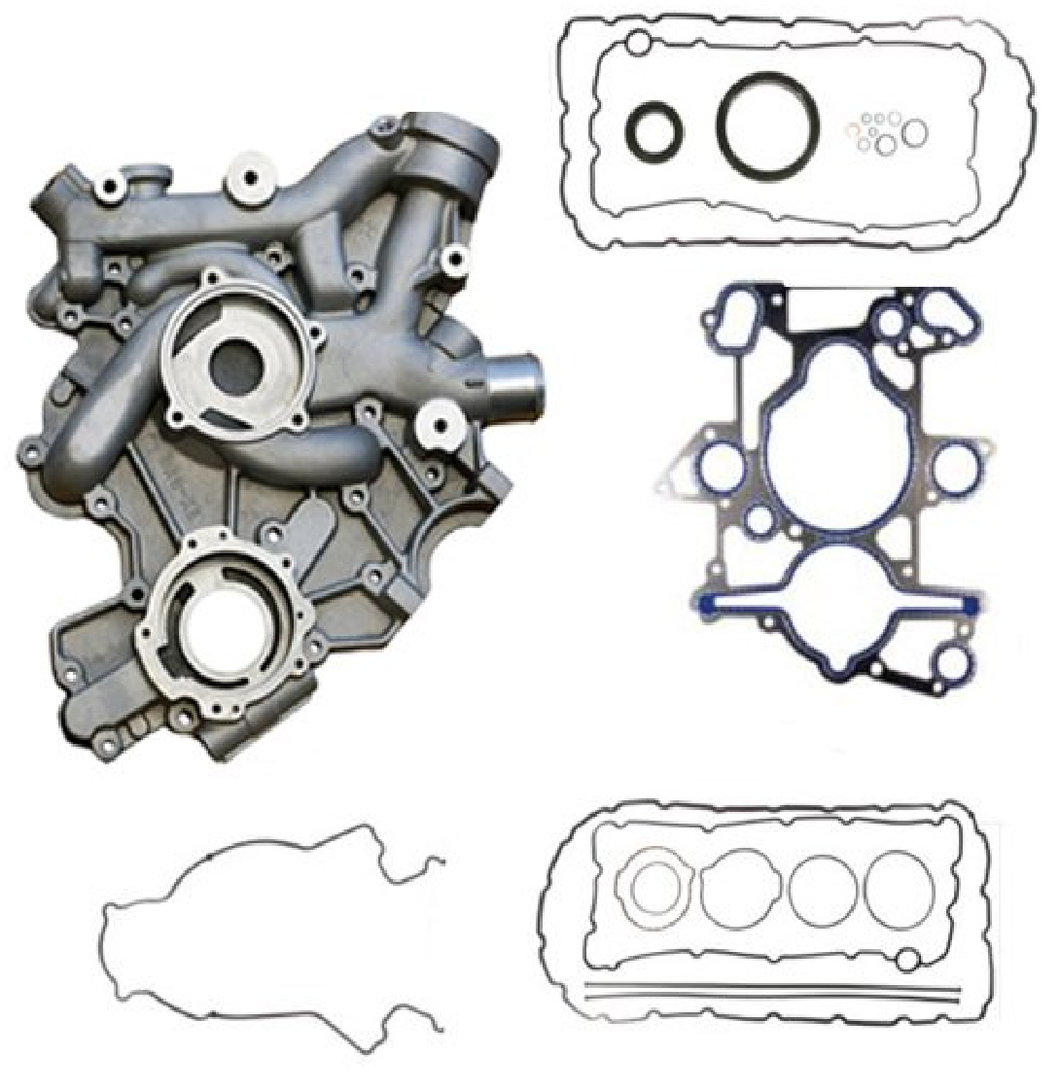 Ford 6.0 Powerstroke Front Cover Kit 5c3z-6608b 1x