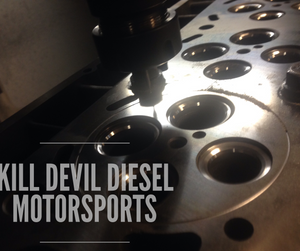 KDD 6.0 Powerstroke O-Ring Cylinder Heads, Pair