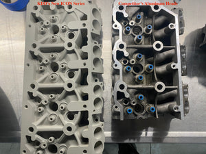 KDD New ICON Series 6.0 Aluminum Heads - CNC Ported