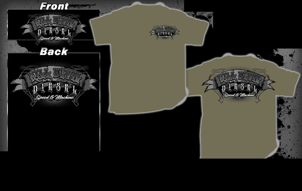 Kill Devil Diesel Olive Drab T-Shirt