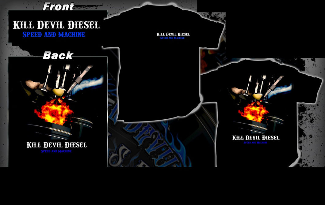 Kill Devil Diesel Valves/Pistons T-Shirt
