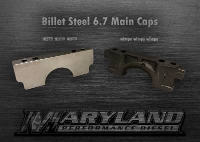 MPD 11-19 BILLET MAIN CAPS