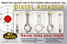 Load image into Gallery viewer, Callie's Ultra Assassin Forged Steel 6.0 powerstroke Rods