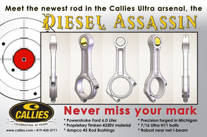 Callie's Ultra Assassin Forged Steel 6.0 powerstroke Rods