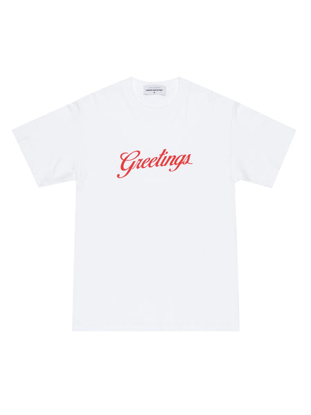 GREETINGS TEE