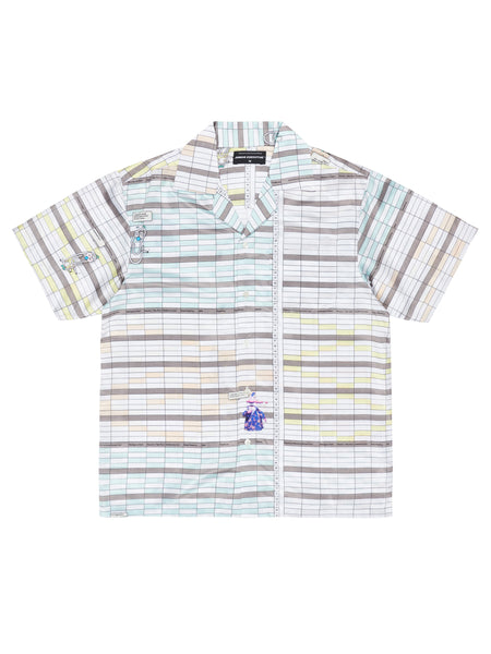 JE x GASIUS SPREAD SHEET SHIRT