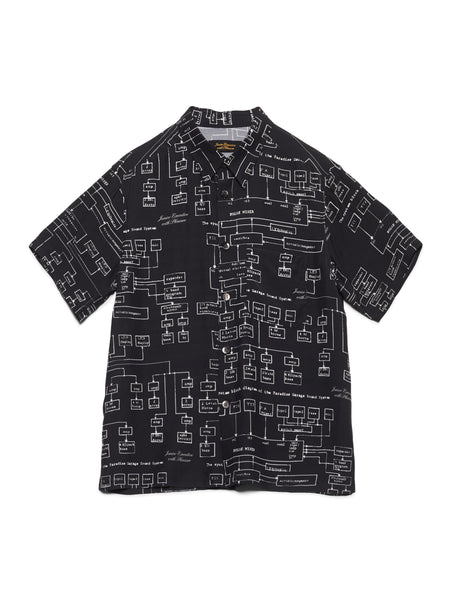 JUNIOR EXECUTIVE WITH PLEASURE SCHEMATICS SHIRT