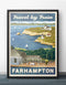 Farhampton Retro Vintage Travel Poster Inspired by How I Met Your Mother