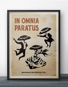 In Omnia Paratus Poster - Heritage Edition (Vertical)