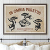 In Omnia Paratus Poster - Heritage Edition (Horizontal)