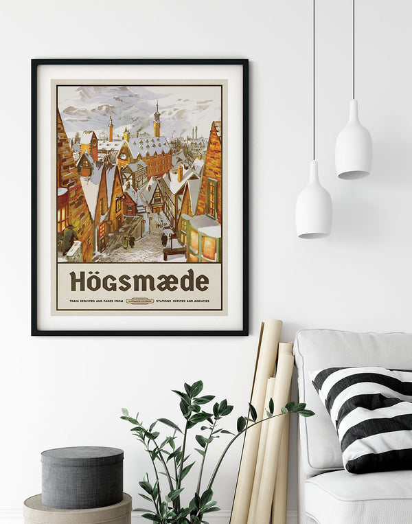 Högsmæde Travel Poster
