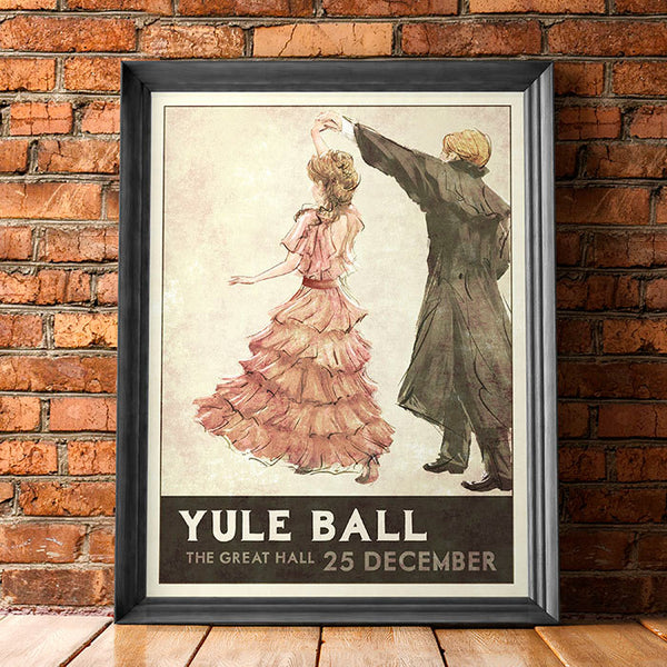 Yule Ball Poster (Pink Dress)