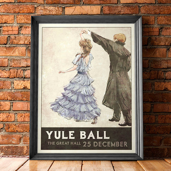 Yule Ball Poster (Blue Dress)